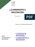 Unidad 3 - Escurrimiento e Infiltración