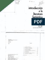 Introduccion a La Literatura Fantastica. Tzvetan Todorov.pdf