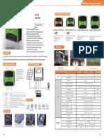 Controladores Solares PWM 10 a 30 Must Solar
