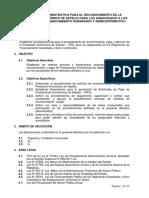 Modelo Directiva Estructura y Descripción