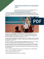 Báo Trung Quốc thất vọng sau thất bại trước bóng chuyền Việt Nam ASIAD 2018