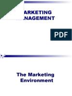 Ch5 Marketing Environment-Lec 12.08.09