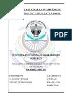 Shubham Final Draft Sociology Second Semester Copy