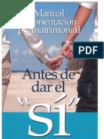 ANTES DE DAR EL SI
