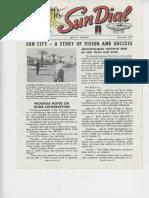 Sun Dial Nov 1960