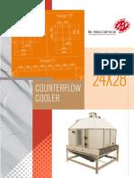 Enfriador contraflujo RCC-24x28-2015 La Meccanica