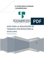 Guía Para Estilo Apa-itss-2015