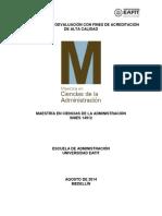 Maestría en Ciencias de La Administración 2014