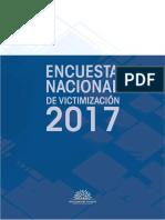 Encuesta Nacional de Victimización 2017
