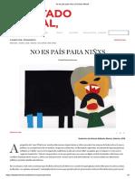 Sanchez Mateos_no Es País Para Niñxs