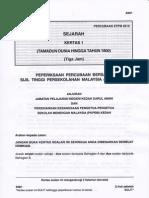 STPM Trial 2010 Sejarah 1 (Kedah)