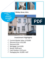 3 WHITBY STREET Investment Brochure