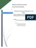 Formulacion de Proyectos - Tarea 1