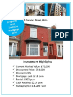 5 Camden Street Hull Investment Brochure