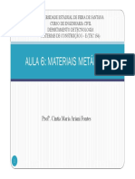Aula 6 Materiais Metalicos - Parte 4