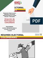 RÉGIMEN ELECTORAL COLOMBIANO.pptx