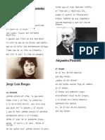 10 poemas internacionales