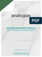 Estudio PBA Agosto - Analogías