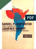 Samuel Huntington Quienes Somos