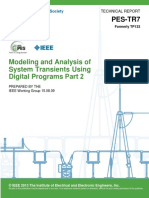 [8] Modeling and Analysis of System Transients Using Digital Programs Part 2 PREPARED by The