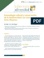 Entomología cultural y conservación de la biodiversidad. Los insectos en las Artes Mayores