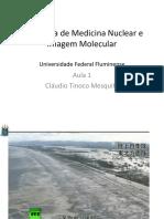Aula 1 - Introdução Medicina Nuclear 2015