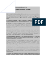 FORMACION SOCIOECONOMICA ESCLAVISTA