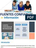 Fuentes Confiables de Información 2018