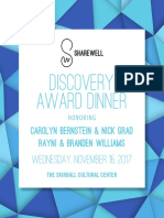 2017 Discovery Award Dinner Tribute Guide