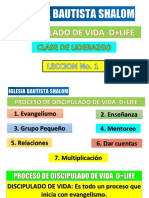 DISCIPULADO DE VIDA+LIFE LECCION 1
