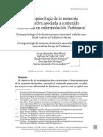 6. Neuropsicología de la memoria declarativa asociada a contenido emocional en enfermedad de Parkinson.pdf