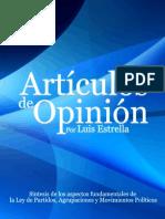 Ley de Partidos, Agrupaciones y Movimientos Políticos