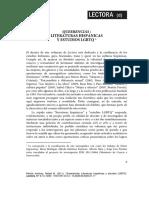 LITERATURAS HISPÁNICAS LGTBIQ