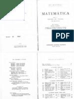 Ary Quintella - Matemаtica Para o Terceiro Ano Colegial 12a. Ed. 1965