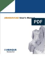Abaqus CAE User's Manual