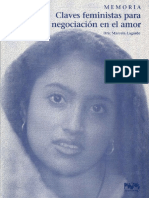 Claves feministas para la negociación en el amor. Marcela Lagarde.pdf