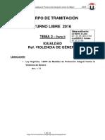 Tema 2 La Igualdad 2016 Parte II 6-Oct T-libre