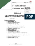 TEMA 16 PROC DECLARATIVO II -DISP. GENERALES- 2016 -27-Oct T-Libre.pdf