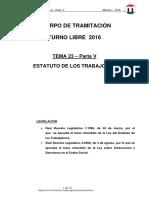 TEMA 23 EL PROCESO LABORAL 2016 Parte V Preguntas ET.pdf