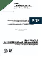 Espacio y Tiempo en Gestion y Análisis Social.