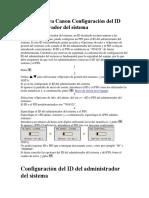 Fotocopiadora Canon Configuración del ID.docx