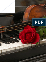 Snow Falls Softly at Night, Sheet Music for Violin & Piano