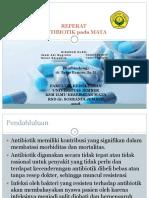 pemberian antibiotik pada Mata