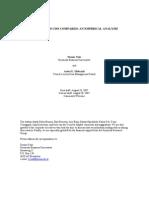 Abs, Mbs and Cdo Compared - An Empirical Analysis