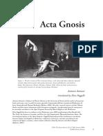 Acta Gnosis