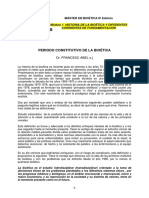 Abel F Periodo Constitutivo Bioetica
