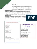 Composicion a Santa Rosa de Lima