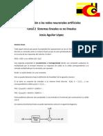 Sistemas lineales vs No lineales