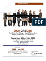 GREdeal Deal-Making & Capital Raising Conference