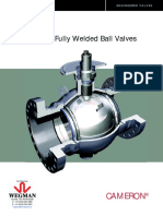 WM- Cameron All Welded Ball Valves Catalogus